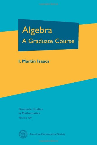 Algebra (Graduate Studies In Mathematics)