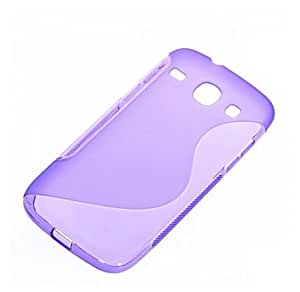 X-Cell S-Line TPU Back Cover for Samsung i8262 Galaxy Core - Purple