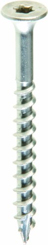 Grip Rite Prime Guard MAXS62703 Type 17 Point Deck Screw Number 10 by 2-1/2-Inch T25 Star Drive, Stainless Steel, 1-Pound Tub (Tub Screws compare prices)