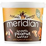 Meridian Nat Smooth Peanut Butter 1000 g (order 6 for trade outer)