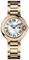 Cartier Ballon Bleu 18kt Pink Gold Small Ladies Watch W69002Z2