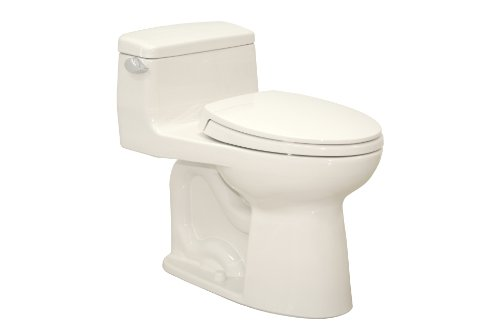 Best Buy Toto MS864114#11 Colonial White Supreme 1.6GPF One-Piece ...