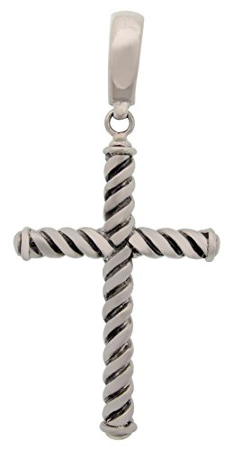 1974-artisan-crafted-sterling-silver-cable-cross-pendant-2-1-2