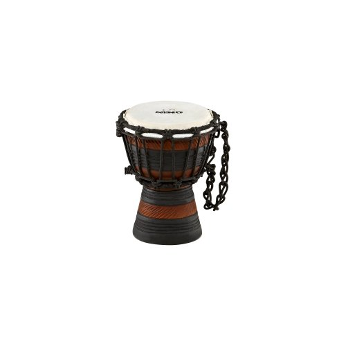 NINO African Style Rope Tuned Djembe 4 1 2-Inch XX Small Earth SeriesB001D4HSES