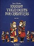 img - for Easiest Violin Duets for Christmas (Easiest Violin Duets for Christmas) book / textbook / text book