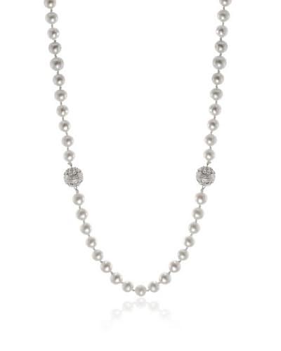 CZ by Kenneth Jay Lane Fresh Water Pearl Bracelet & Necklace Combo