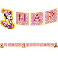 Disney Babies MINNIE Party Supplier BANNER Birthday - 1