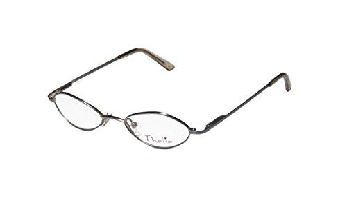 Thalia Zia Childrens/Kids/Girls Designer Full-rim Spring Hinges Eyeglasses/Eyewear (44-16-120, Light Blue) (Elite Carbon Cub compare prices)
