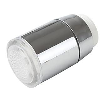 Gx robinet led de de salle de bains el gant plastique finition finiti - Robinet salle de bain led ...
