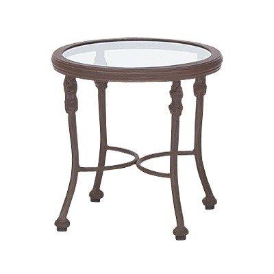 Image of Woodard Landgrave 42535G / 42535C Chateau Round End Table (42535G / 42535C)