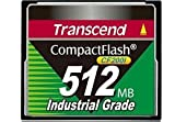 Transcend CF200I Industrial Grade - Flash memory card - 512 MB - CompactFlash