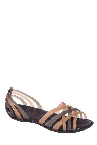 Crocs Huarache D'Orsay Flat Sandal