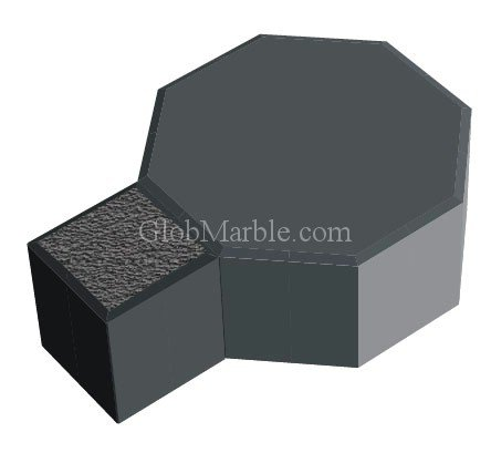 Paver Stone Mold Ps 13039/2 front-181939