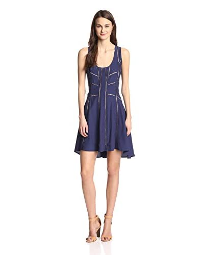 Aijek Women's Borderlines Mini Dress