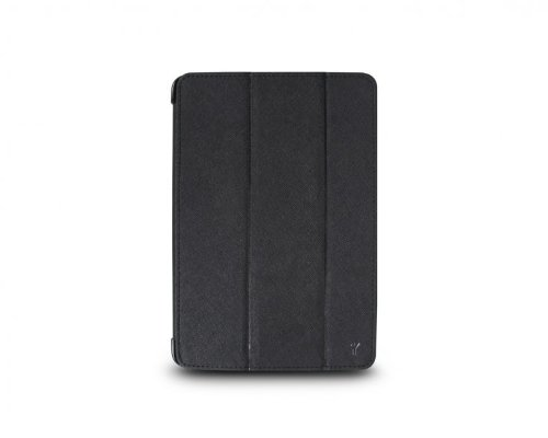 The Joy Factory SmartSuit iPad mini Ultra-Slim Snap-On Stand/Case with Wake-up/Sleep, Black (CSE101) (Joy Factory Smartsuit Mini compare prices)
