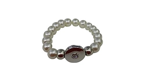 Great Features Of Snap Charming Pearl Interchangeable Jewelry Snap Accessory