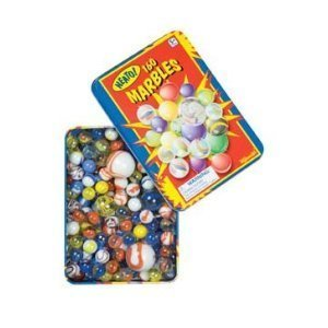 Marbles In A Tin Box, 160-Piece front-987231