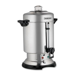 D50065 Coffee Urn - 1000W - 60 Cup - Stainless Steel by HAMILTON BEACH