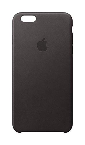 Apple MKXW2ZM/A Leder Schutzhülle für Apple iPhone 6/6S  schwarz