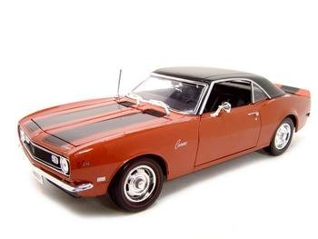1968 CHEVY CAMARO Z/28 1:18 DIECAST MODEL maisto bburago 1 18 fiat 500l retro classic car diecast model car toy new in box free shipping 12035