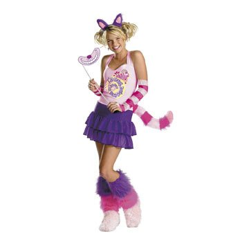 The Cheshire Cat Adult Women's Costume - Halloween Costumes & Teen Girl Costumes