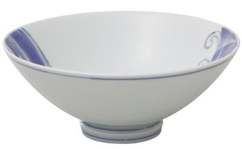 有田焼 匠の蔵 口福(こうふく)なお茶漬け碗シリーズ 碗 (大) 波うさぎ T7111