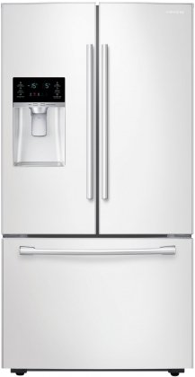 Samsung RF28HFEDBWW Energy Star 28 Cu. Ft. French Door Refrigerator with Cool Select Pantry and Freezer Drawer, White