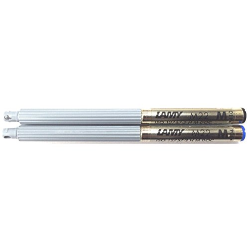 Lamy M22 Moyenne Noire Mine Compact Recharge pour stylo bille de Lamy