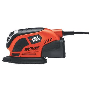 Factory-Reconditioned Black & Decker MS800BR Mouse Detail Sander with Dust Collection