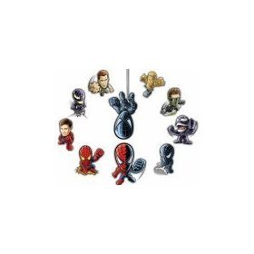 Buy Burger King 2007 Spiderman 3 Toys Promotion Set 10 Figurines