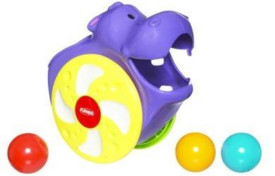 Playskool Poppin' Park Fiil-N-Spill Hippo front-884947