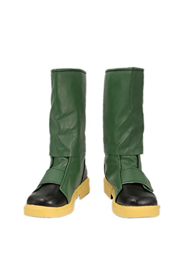 [Dragon Ball Bulma Cosplay Boots Shoes C] (Bulma Costume)