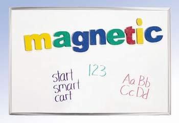 School Smart Magnetic/Dry-Erase Board - 24 Inch X 36 Inch