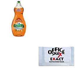 KITCPM46113EAOFX00060 - Value Kit - Office Snax Nutrasweet Blue Sweetener (OFX00060) and Ultra Palmolive Antibacterial Dishwashing Liquid (CPM46113EA)