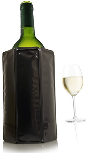 Vacu Vin Rapid Ice Wine Cooler - Black (Rapid Ice Wine Cooler Platinum compare prices)