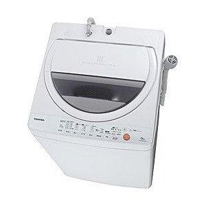 東芝 6.0kg 全自動洗濯機 ピュアホワイトTOSHIBA AW-60GL-W