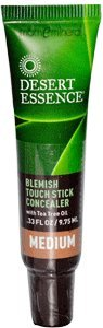 Blemish Touch Stick Concealer, Medium, .33 fl oz (9.75 ml) by Desert Essence