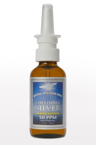 Colloidal Silver 50ppm Vertical Spray - 1 oz - Liquid