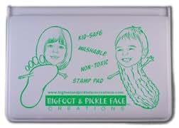 Green-kids Washable Ink Stamp Pad - Childsafe