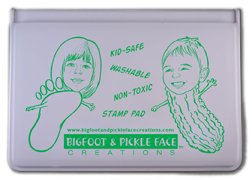 Green-kids Washable Ink Stamp Pad - Childsafe