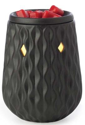 Candle Warmers Illumination Candle Warmer, Diamond Black
