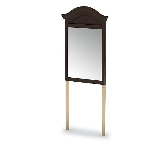 South Shore Summer Breeze Collection Mirror Chocolate front-447943