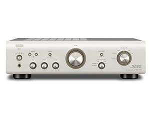 Denon PMA 710 AE Stereo Vollverstärker (Aluminium Frontblende, Pre-Out, MM- Phono Eingang, 2x 85 Watt) premium silber