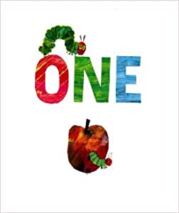 Eric Carle (The Hungry Caterpillar) Age 1 Birthday Card