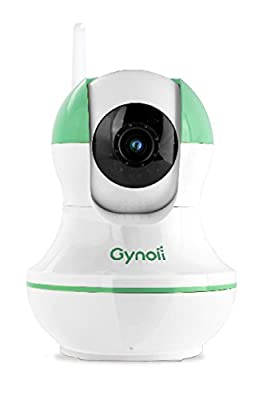 Gynoii WiFi Video Baby Monitor with HD Infrared Night Vision, Two Way Audio and Time-Lapse for iPhone, iPad, Android Phones and tablets