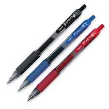 Zebra Pen Corporation Gel Pen, Retractable, Fine Point, .5mm, Blue