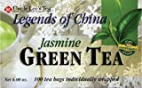 Uncle Lees Tea Legends of China Jasmine Green Tea 100 Bags