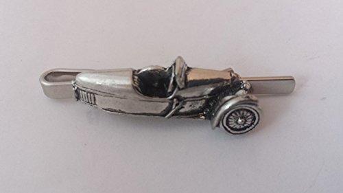 Morgan Super Sport 3Wheeler 1928vista laterale su una cravatta clip (Slide) in fine peltro inglese