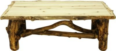 Mountain Woods Furniture Aspen Grizzly Coffee Table - Natural