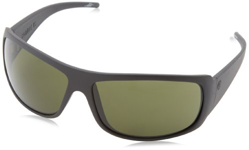Electric Charge Xl Ee10401042 Polarized Wrap Sunglasses,Matte Black,65 Mm